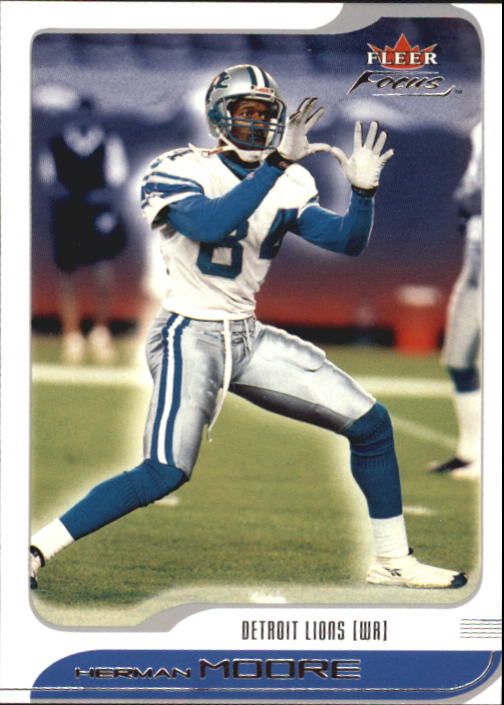 2001 Fleer Focus #42 Herman Moore
