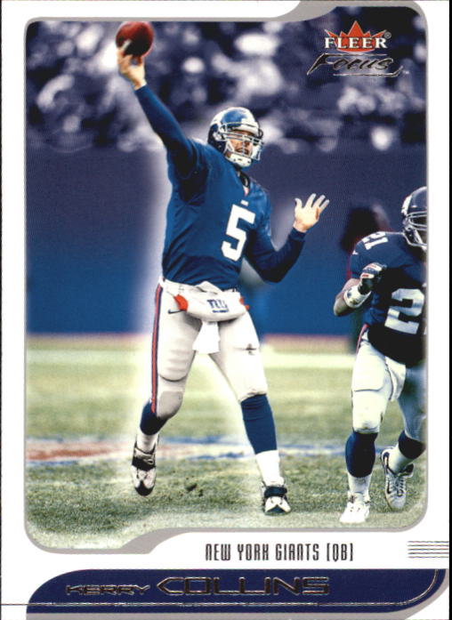 2001 Fleer Focus #44 Kerry Collins