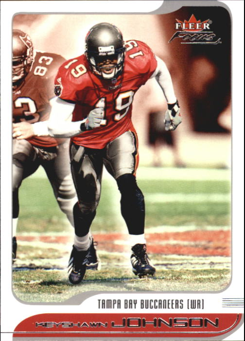 2001 Fleer Focus #51 Keyshawn Johnson