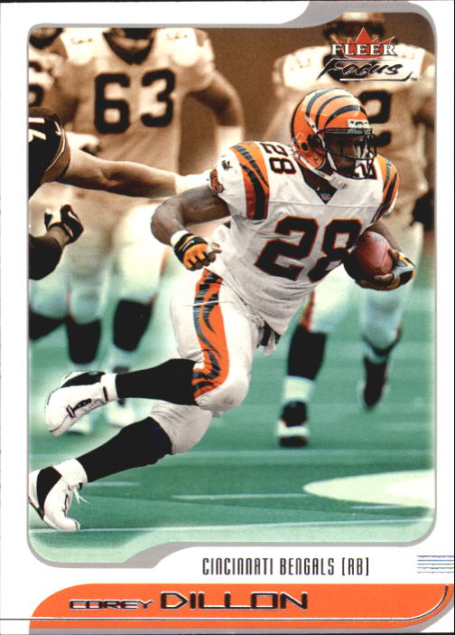 2001 Fleer Focus #53 Corey Dillon