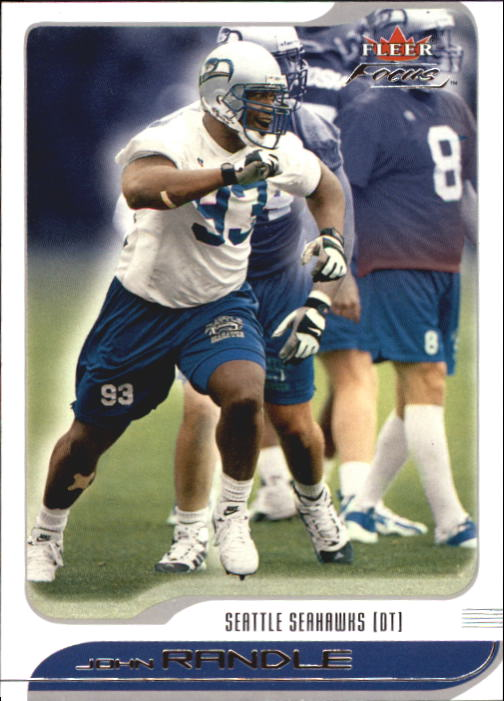 2001 Fleer Focus #54 John Randle