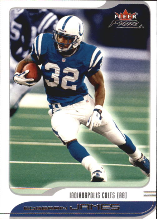 2001 Fleer Focus #58 Edgerrin James