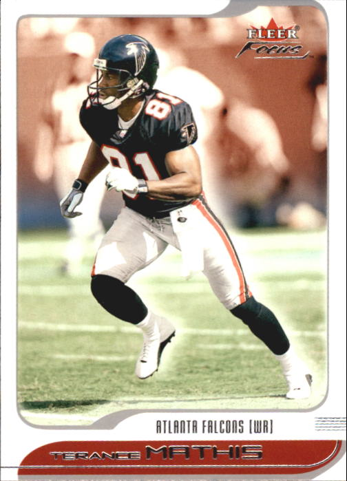 2001 Fleer Focus #59 Terance Mathis