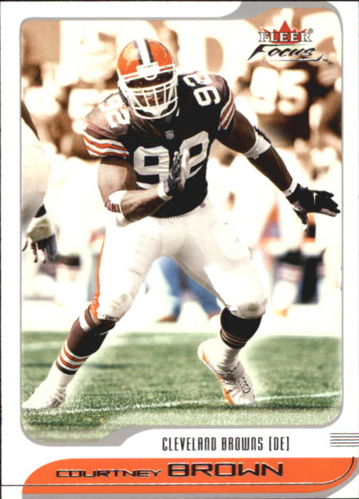 2001 Fleer Focus #64 Courtney Brown