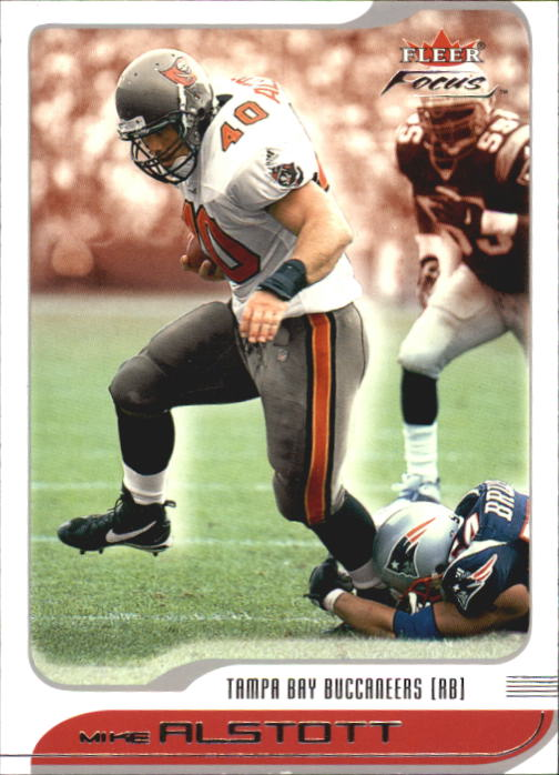 2001 Fleer Focus #65 Mike Alstott