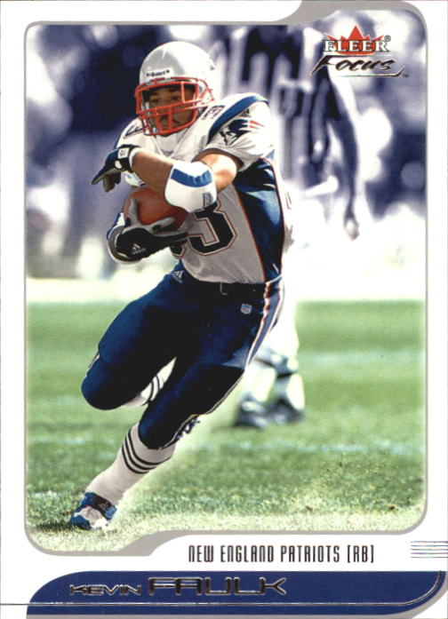 2001 Fleer Focus #66 Kevin Faulk