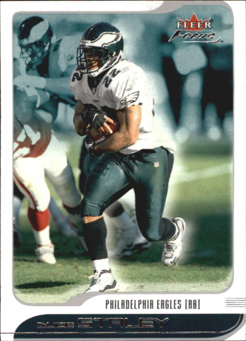2001 Fleer Focus #74 Duce Staley