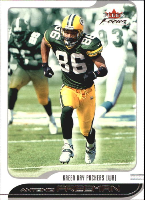 2001 Fleer Focus #75 Antonio Freeman