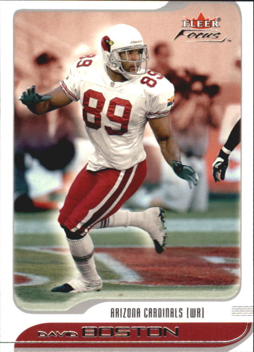 2001 Fleer Focus #76 David Boston
