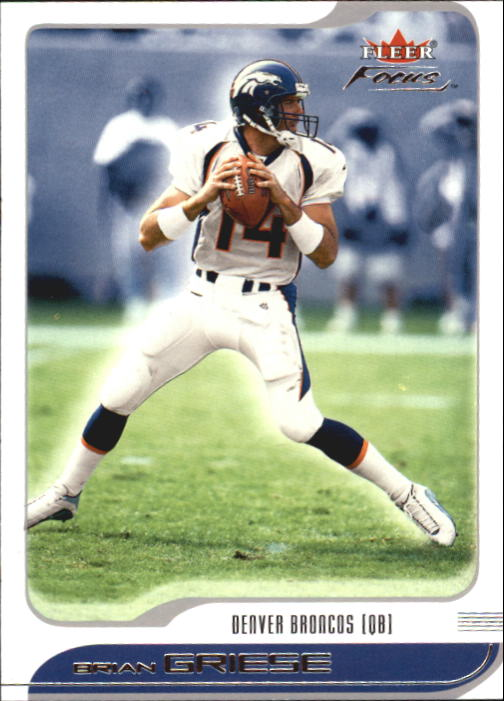 2001 Fleer Focus #78 Brian Griese