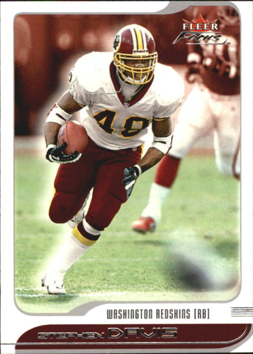 2001 Fleer Focus #79 Stephen Davis