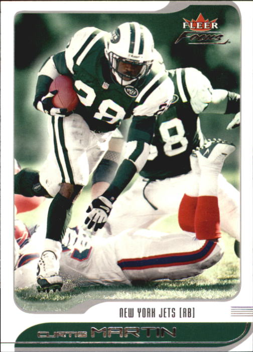2001 Fleer Focus #80 Curtis Martin