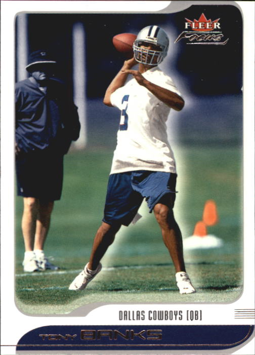 2001 Fleer Focus #81 Tony Banks