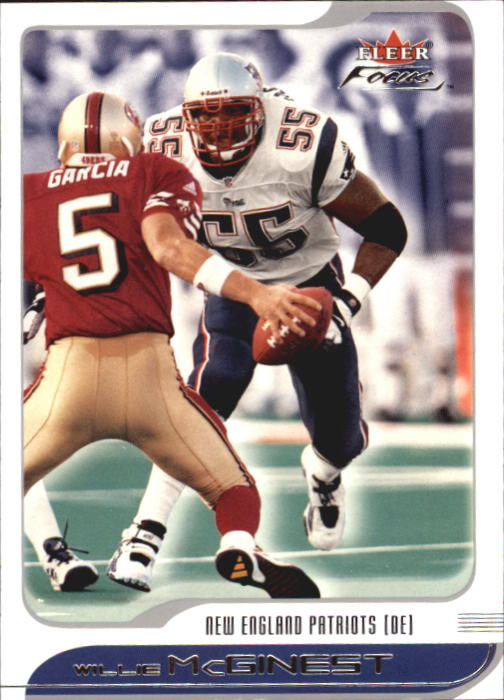 2001 Fleer Focus #83 Willie McGinest