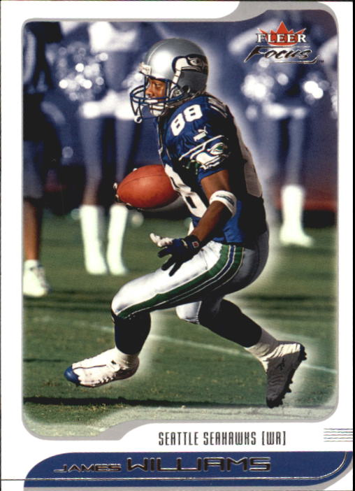2001 Fleer Focus #85 James Williams