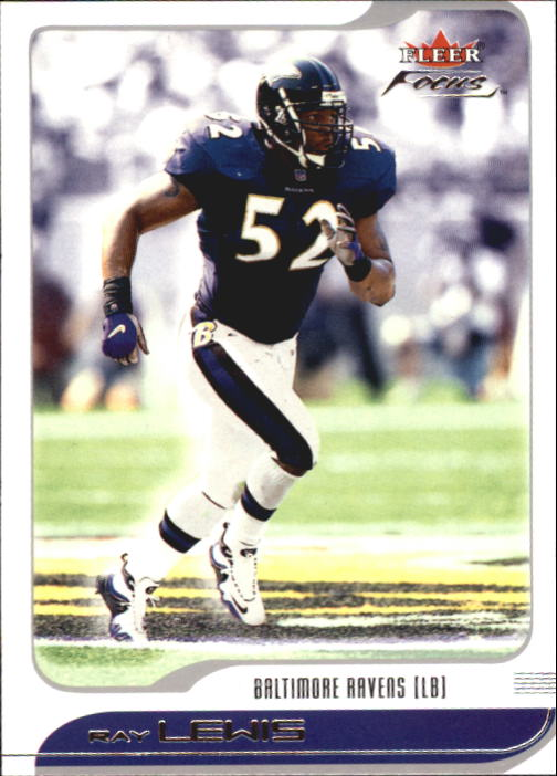 2001 Fleer Focus #90 Ray Lewis