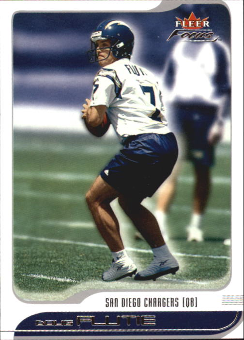 2001 Fleer Focus #91 Doug Flutie