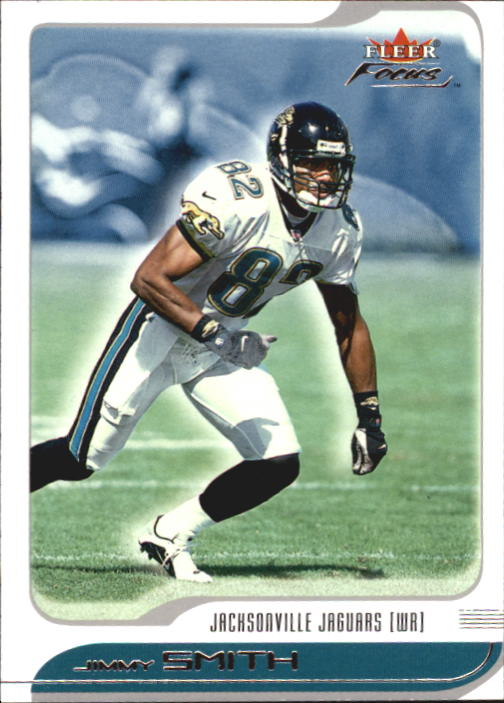2001 Fleer Focus #92 Jimmy Smith