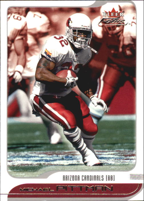 2001 Fleer Focus #96 Michael Pittman