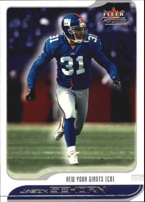 2001 Fleer Focus #100 Jason Sehorn