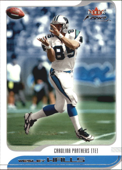 2001 Fleer Focus #155 Wesley Walls