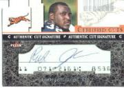 2001 Fleer Focus Certified Cuts #CCRJ Rudi Johnson