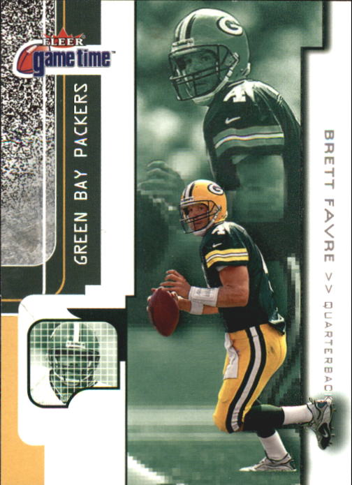 2001 Fleer Game Time #81 Brett Favre