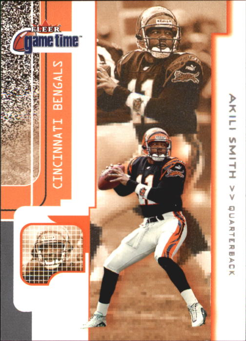 2001 Fleer Game Time #101 Akili Smith
