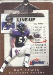 2001 Fleer Game Time Eleven-Up #14 Ray Lewis