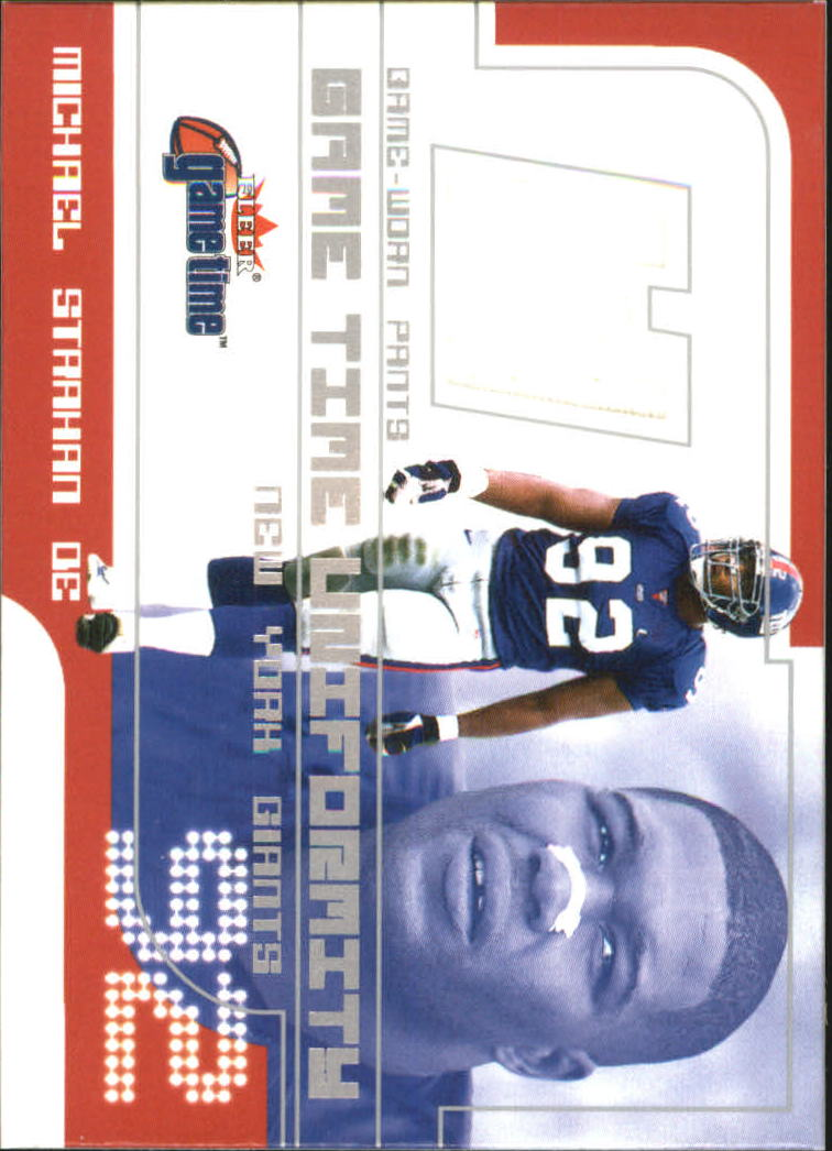 2001 Fleer Game Time Uniformity #33 Michael Strahan Pants