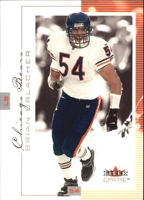 2001 Fleer Genuine #20 Brian Urlacher
