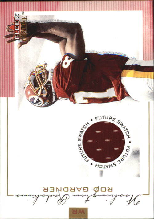 2001 Fleer Genuine #130 Rod Gardner JSY RC