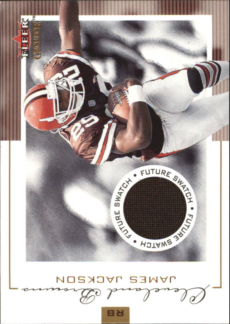 2001 Fleer Genuine #141 James Jackson JSY RC