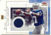 2001 Fleer Genuine #145 Quincy Carter JSY RC