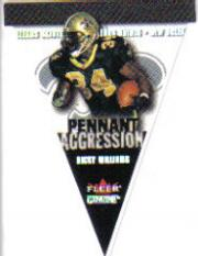 2001 Fleer Genuine Pennant Aggression #9 Ricky Williams
