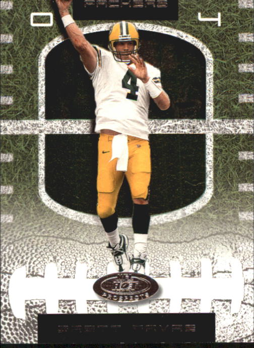 2001 Hot Prospects #4 Brett Favre
