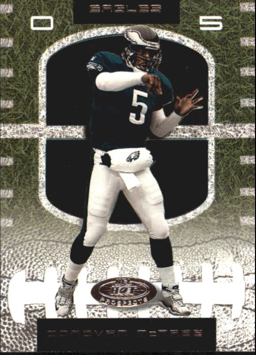 2001 Hot Prospects #5 Donovan McNabb