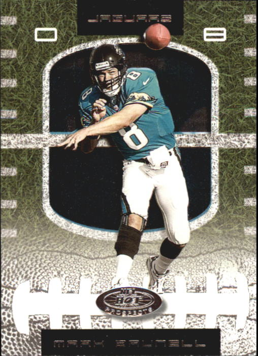 2001 Hot Prospects #8 Mark Brunell