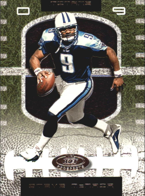 2001 Hot Prospects #9 Steve McNair
