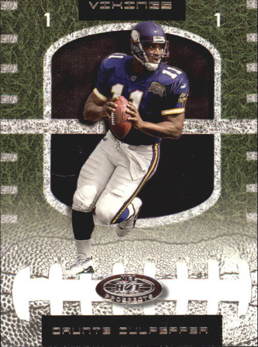 2001 Hot Prospects #11 Daunte Culpepper
