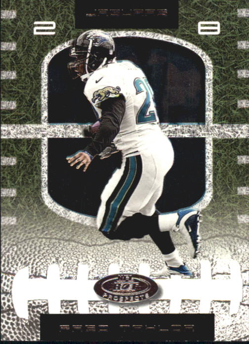 2001 Hot Prospects #28 Fred Taylor