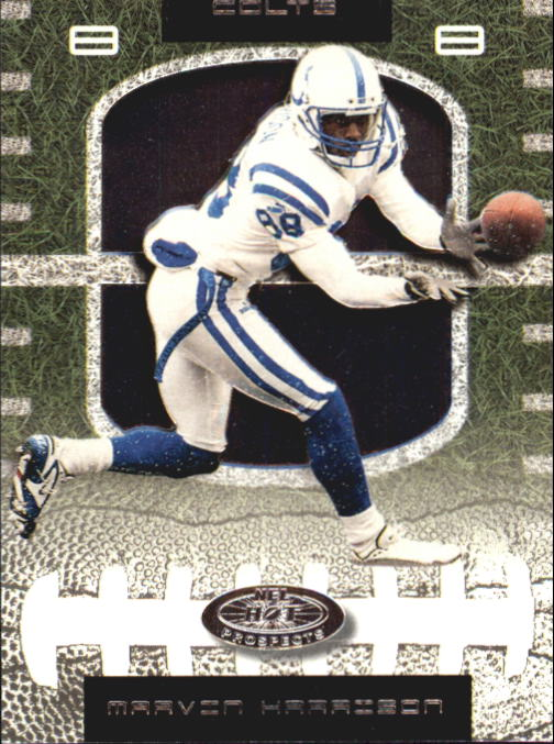 2001 Hot Prospects #29 Marvin Harrison