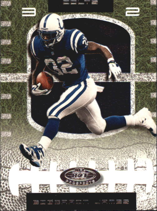 2001 Hot Prospects #32 Edgerrin James