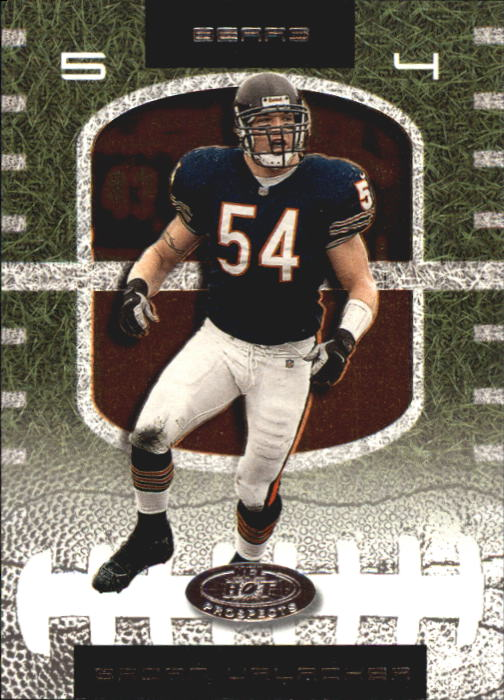 2001 Hot Prospects #54 Brian Urlacher