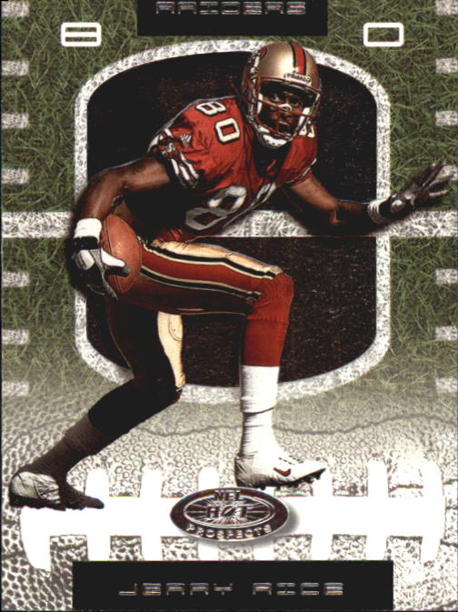 2001 Hot Prospects #62 Jerry Rice