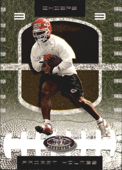 2001 Hot Prospects #70 Priest Holmes