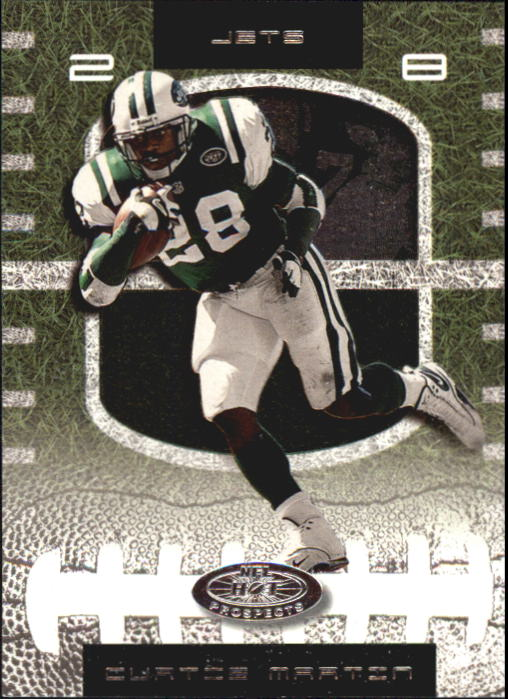 2001 Hot Prospects #74 Curtis Martin