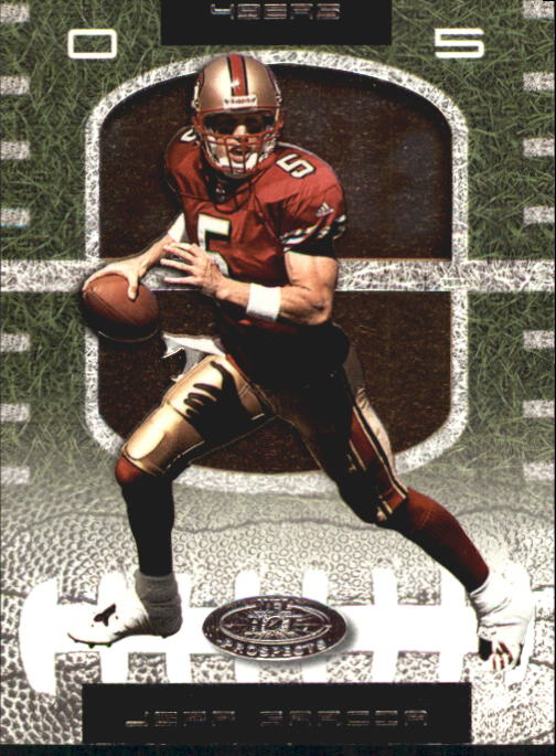 2001 Hot Prospects #100 Jeff Garcia