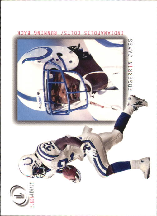 2001 Fleer Legacy #12 Edgerrin James