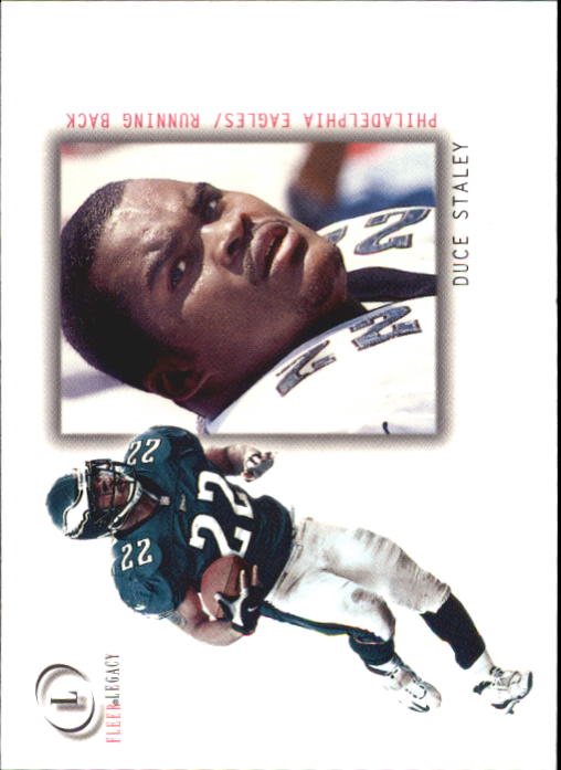 2001 Fleer Legacy #23 Duce Staley
